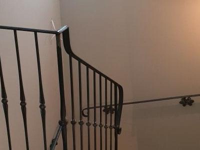 poręcz schodów
